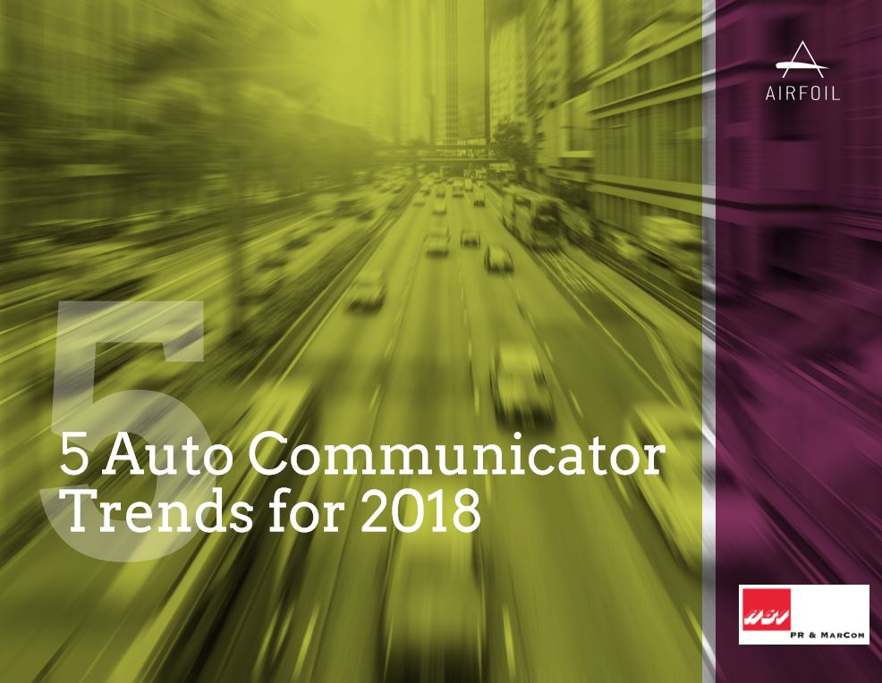 5 Auto Communicator Trends 2018